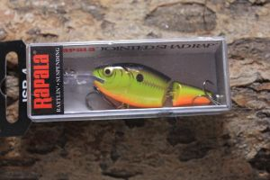 Rapala Jointed Shad Rap 4cm UV Keltainen