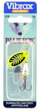 Blue Fox Vibrax FLUORESCENT 2 YT